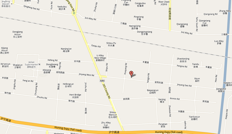 Travel map, Kunshan